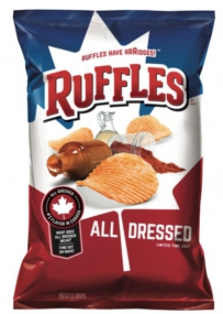 Ruffles All dressed chips 薯片
