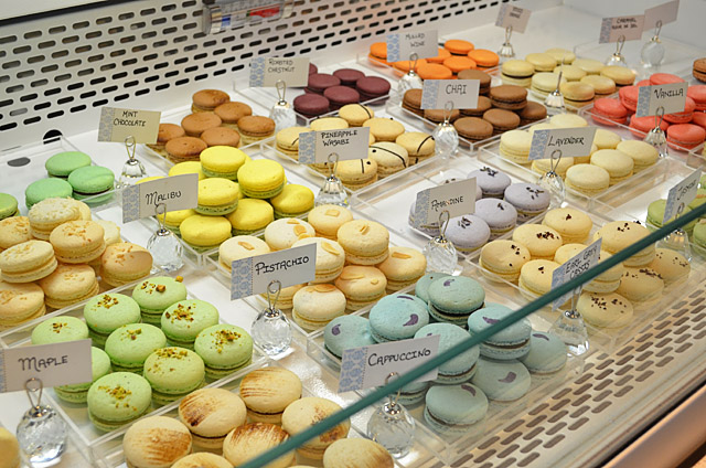 Soirette Macarons and Tea 馬卡龍