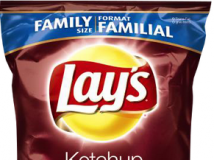 Lays Ketchup Chips 樂事番茄醬味道洋芋片
